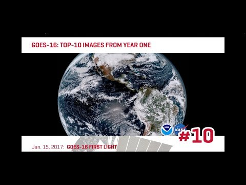 Harris Corporation - GOES-16: Top-10 Images From Year One