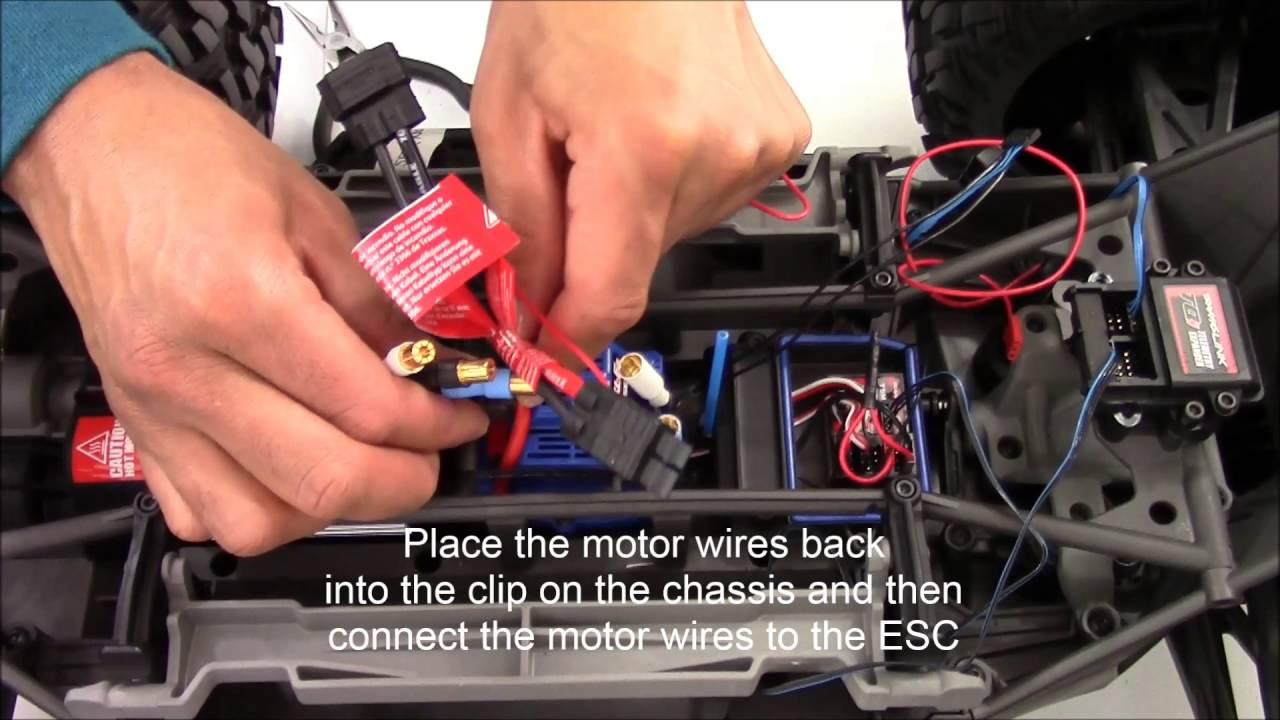 X-maxx Battery Voltage And Temperature Sensor Install  Updated June 2016