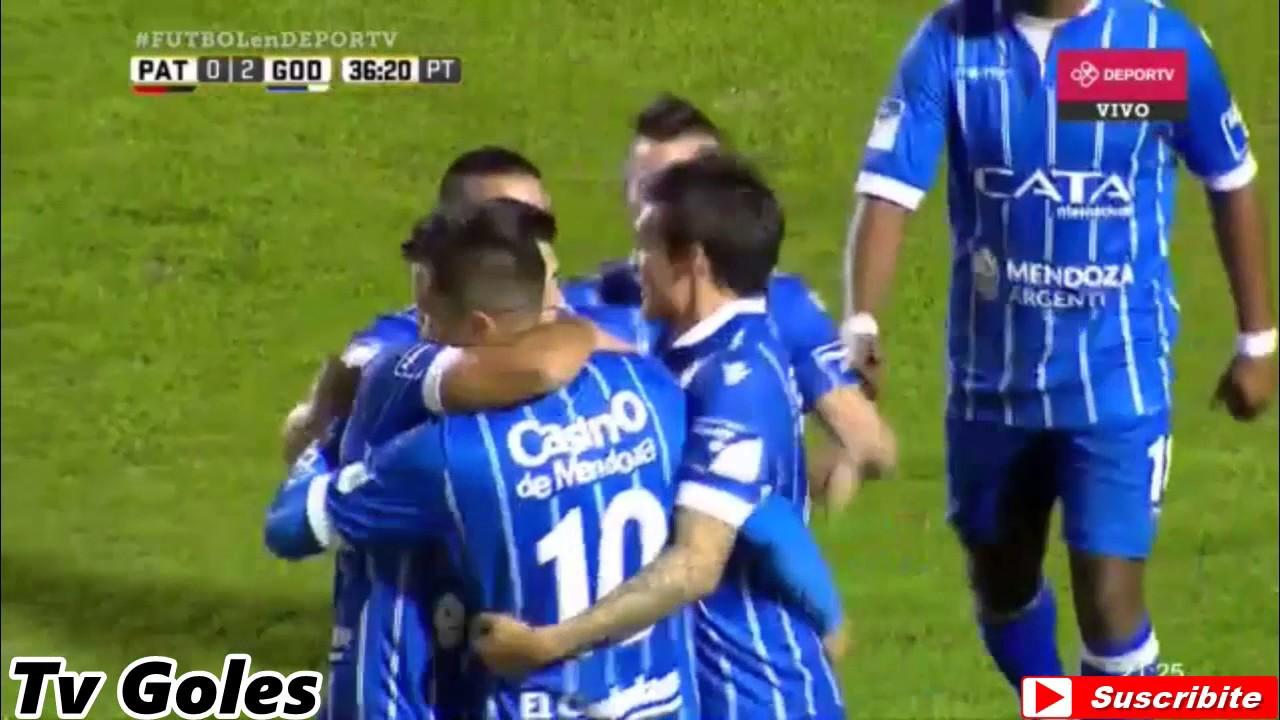 Patronato Parana 0-3 Godoy Cruz Antonio Tomba