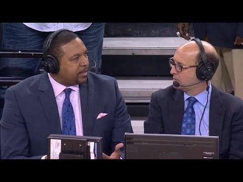 Jeff van gundy & Mark Jackson rant on officials not able to review foul calls | Warriors vs Cavs