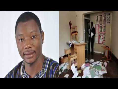 """Bernard Mornah's office ransacked by unknown persons after """"Ghana First Demo"""""""