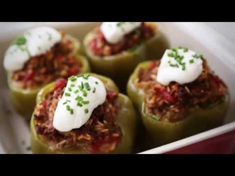 How to Make Baked Stuffed Peppers | Pepper recipes | Allrecipes.com