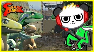 Lego Jurassic World RAPTOR QUEST Let's Play with Combo Panda thumbnail