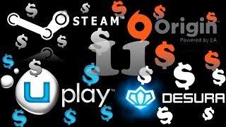 Раздача Steam игр №11 Покупка рандомных(случайных) ключей(В этот раз я предлагаю вам такие ссылки для покупки: Pay-n-Play по 11,9руб - http://goo.gl/qqd8FS lemonkey по 30/45/60руб - Silver key -..., 2014-06-21T14:38:11.000Z)