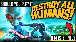 Destroy All Humans Gameplay - Is It Worth Playing? (A True Masterpiece Returns) #destroyallhumans