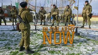 Getting camouflaged up & learning to parachute down safely – In the Army Now Ep.25