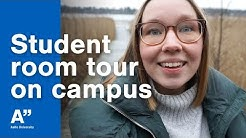 Student room tour at Aalto Campus