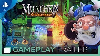 Munchkin: Quacked Quest - Gameplay Trailer | PS4