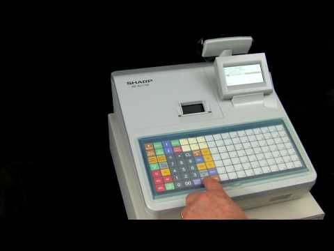 How View & Print The EJ Eelectronic Journal On Sharp XE-A217 Cash Register / EJ Full XE-A217
