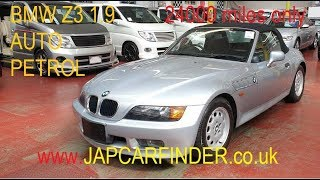 BMW Z3 1900cc 1998 Convertible  in excellent condition @Japcarfinder.co.uk
