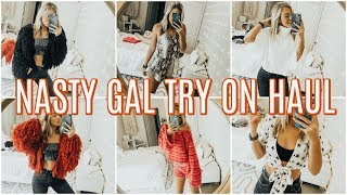 NASTY GAL TRY ON HAUL | My First Impressions