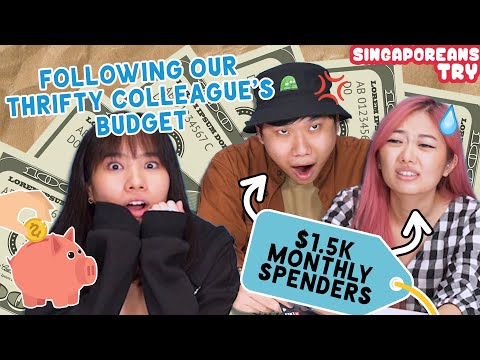 Singaporeans Try: $1500 Monthly Spenders Live Frugally For 72 Hours