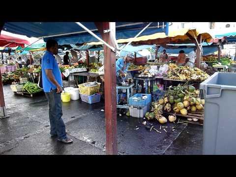 Marché fruits et légumes - Fort de France - Martinique