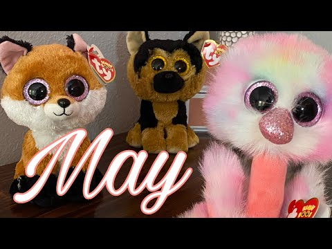 May Beanie Boo Birthdays Collection
