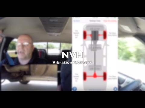 NVH APP Noise Vibration Harshness App FULL DEMO Diagnose Auto Repair Vibration Issues Faster