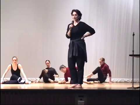 2001 Rebecca Rice Dance with Boston Ballet Students - Lecture Demonstration