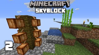 Infinite Grass, Snow & More! - Minecraft Skyblock Let's Play | Part 2
