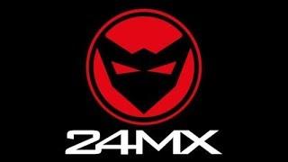 unboxing pacco 24Mx casco Raven e visiera 100%