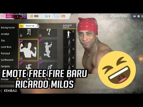 Ricardo Milos Emote Free Fire Funny Freefire Ricardo Milos Freefirexe