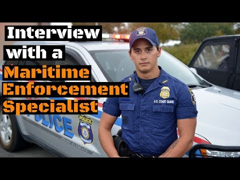What does a Maritime Enforcement Specialist (ME) do?