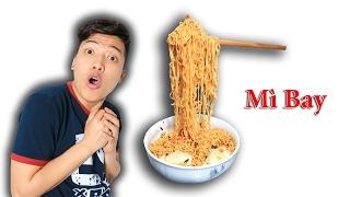 NTNVlogs - Tự Làm Mì Bay Và Ăn ( Flying Noodle )