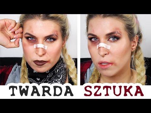 ♦ Halloween : Bad Girl - sztuczne rany i siniaki! ♦