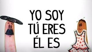 Chanson du verbe être en espagnol, verbe ser