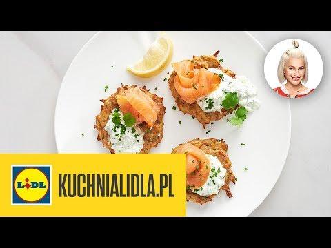 Placki Ziemniaczane Z łososiem Daria ładocha Kuchnia Lidla