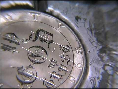 'In GOD We Trust' Hand Engraved Silver Half Dollar By Shaun Hughes