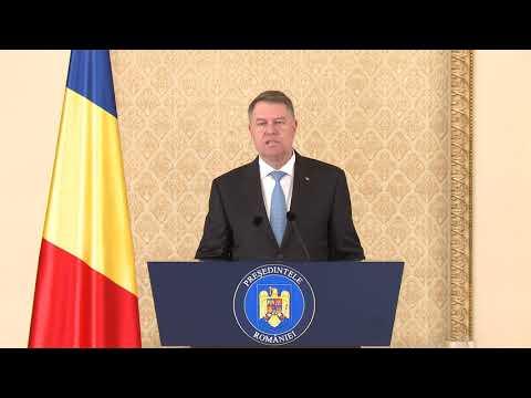 16 ianuarie 2018 - Declaratia Presedintelui Klaus Iohannis