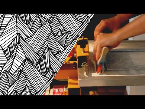 Screen Printing: Abstract Design Workflow | Creativity Challenge Daily VLOG #6