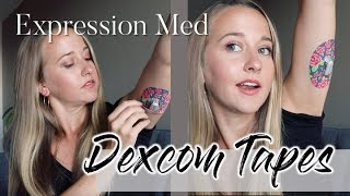EXPRESSION MED DEXCOM TAPES // review and tutorial! - YouTube