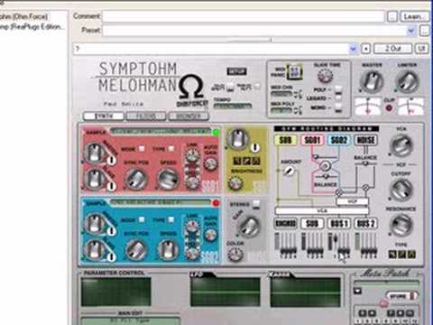 Tutorial: Ohm Force Symptohm: Melohman Singing Filters