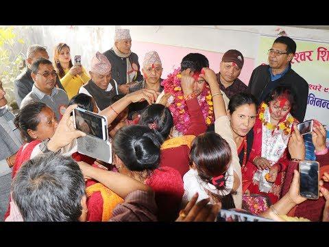 डा.सुनिल शर्मा दम्पतीलाई गरियो भव्य नागरिक अभिनन्दन Dr.Sunil Sharma Avinandan Report
