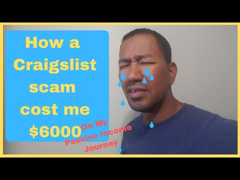 How to Spot a Scammer On Craigslist - This Passive Income Deal Cost Me $6000