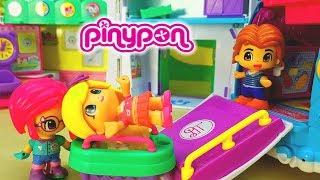 PINYPON GIULIA STA PER PARTORIRE - Un bambino in arrivo , Dottoressa con ambulanza , pinypon baby