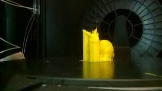 Печать тестового кролика (модель прилагалась к принтеру)