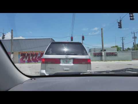 Driving in little haiti
