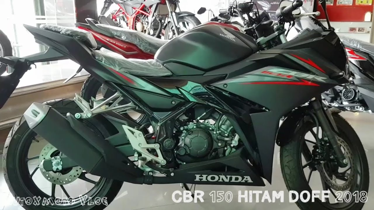 Cbr 150 R Hitam Doff Black Doff 2018 Youtube