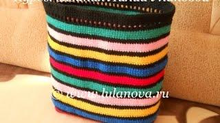 Вязание крючком мешка для рюкзака - Crochet Tasche Rucksack