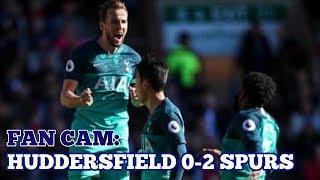 FAN CAM: Huddersfield 0-2 Tottenham: Kane Brace as Spurs go 4th: 29 September 2018