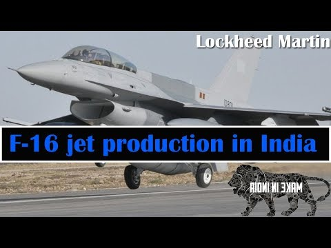 F-16 jet production in India will be exclusive: Lockheed