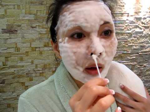 Asian girl body paint