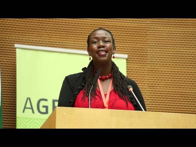 AGRF 2014 - Investing in Inclusive Agricultural Value Chains - Dr Wanjiru Kamau-Rutenberg