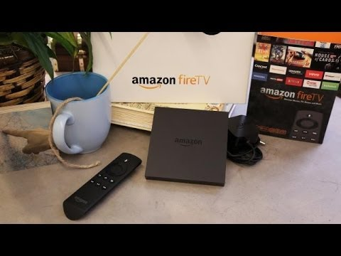 Amazon Fire TV Unboxing | Hands On
