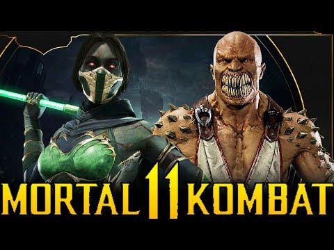 JADE VS BARAKA | High Level Gameplay (New Fatality) & Skins! - Mortal Kombat 11