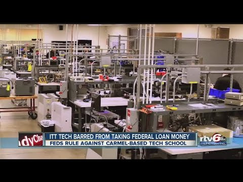 ITT Tech won't accept federal loan money