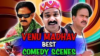 Venu Madhav Best Comedy Scenes | South Indian Hindi Dubbed Best Comedy Scenes