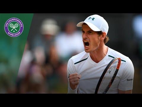 Andy Murray v Fabio Fognini highlights - Wimbledon 2017 third round