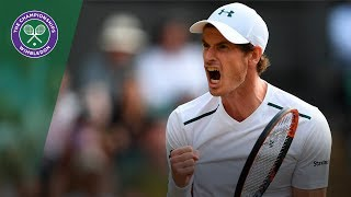 Andy Murray v Fabio Fognini highlights - Wimbledon 2017 third round